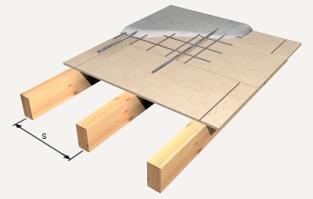 cubierta tablero aglomerado hidrófugo