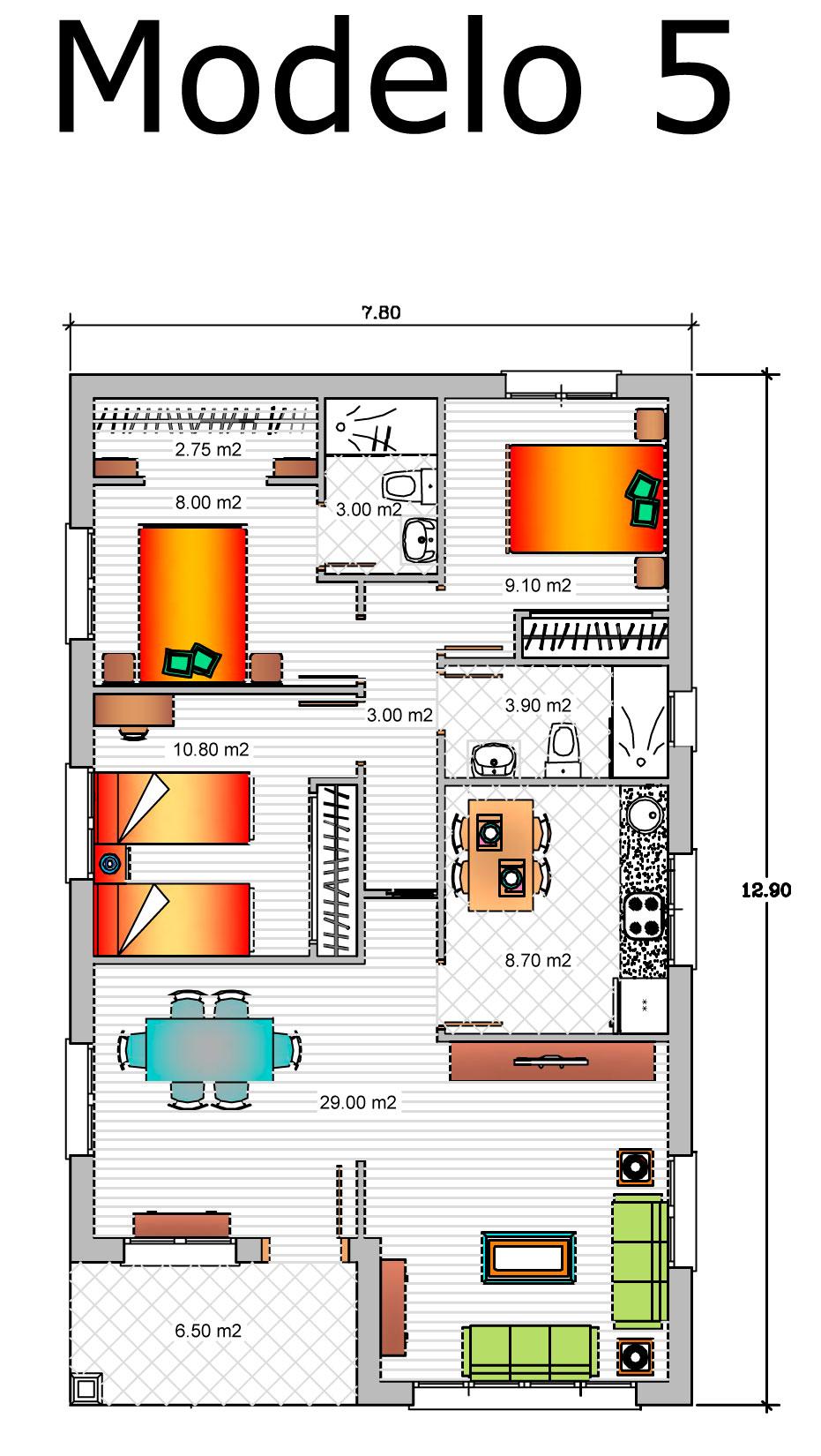 Precio proyecto casa 120 m2 planos de casas gratis y en venta plano de vivienda de dormitorios - Precio proyecto casa 120 m2 ...