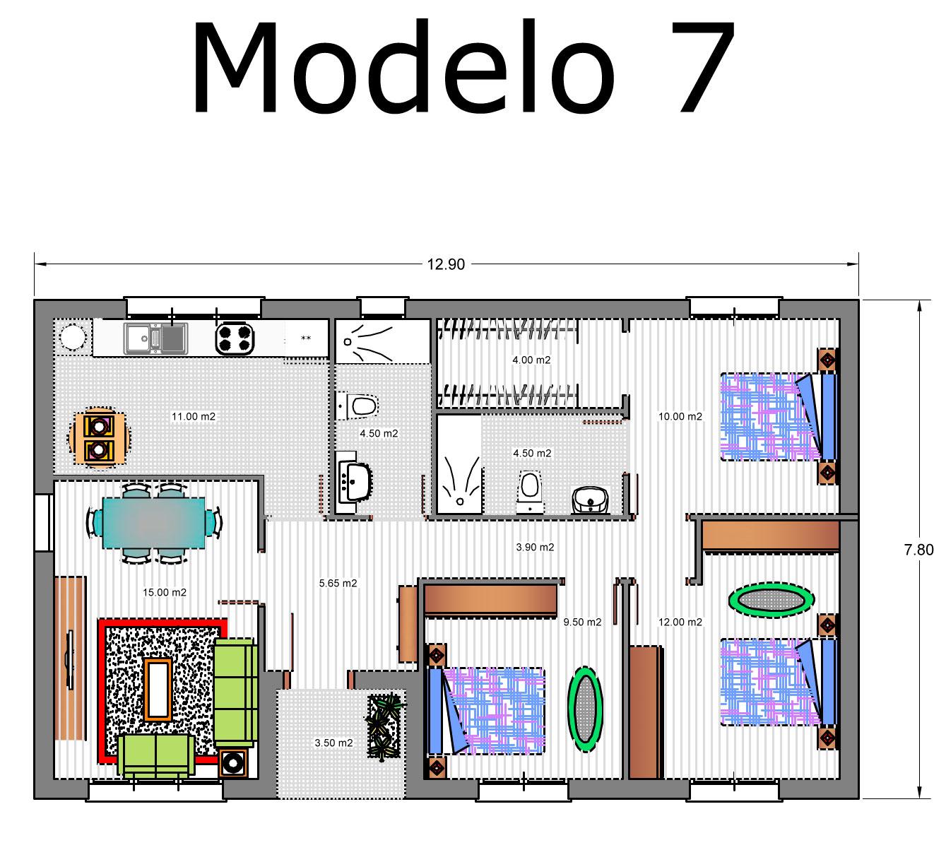 Precio proyecto casa 120 m2 simple casa mil fracc la ciudadela precio with precio proyecto casa - Precio proyecto casa 120 m2 ...