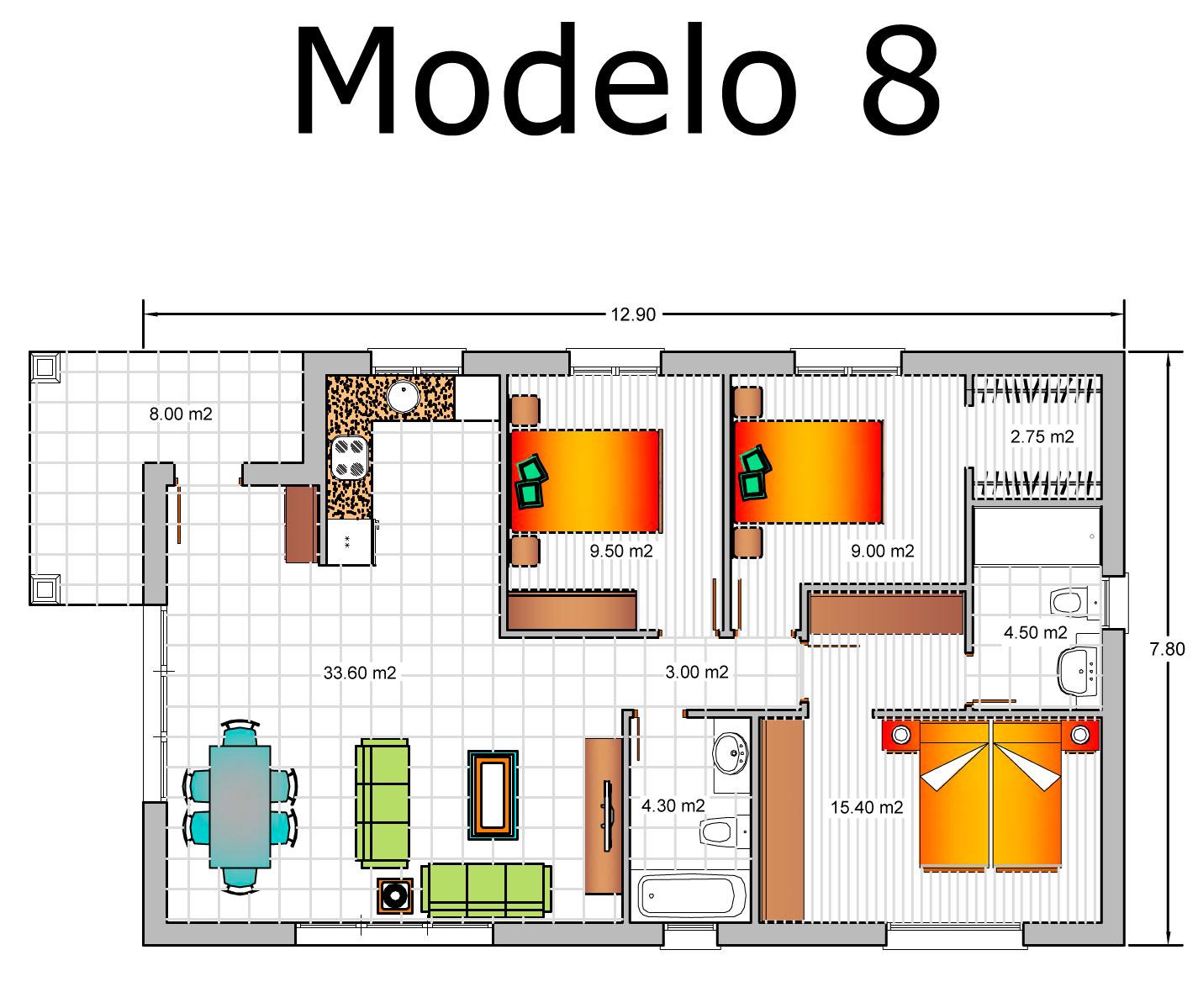 Precio Proyecto Casa 120 M2. Free Precio M Vivienda Unifamiliar With ...